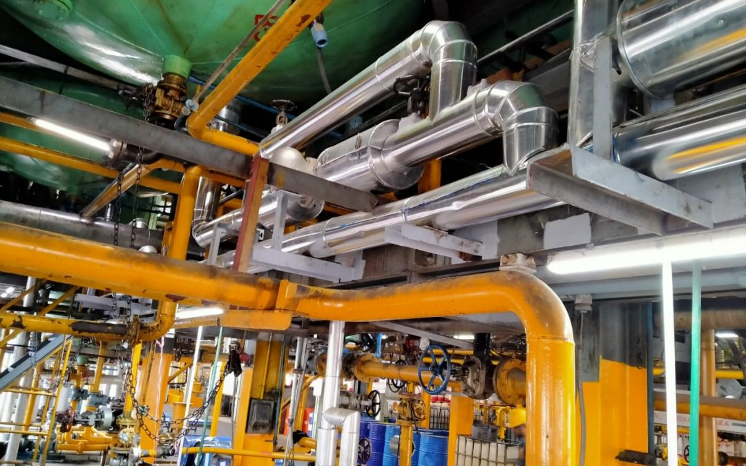 Replacement of Steam Condensate Return System at Shell LOBP, Karachi